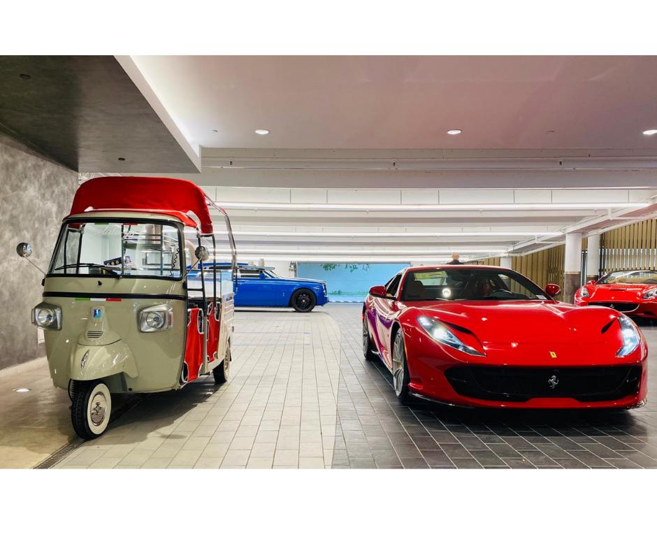 Gelato-Go Ferrari